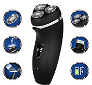 abordables -4d rasoir électrique rasoir hommes 3 lames portable barbe tondeuse machine de découpe pour les favoris