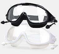 abordables -Lunettes de natation Taille ajustable Pas de fuite Pour Adulte Silikon Polycarbonate N / C Transparente