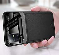 economico -telefono Custodia Per Samsung Galaxy Per retro Custodia in pelle S20 Plus S20 Ultra S20 Resistente agli urti Ultra sottile Tinta unita pelle sintetica TPU Acrilico