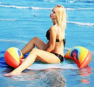abordables -Jouets Gonflables de Piscine Piscine gonflable Hamac d'eau Drifter Hamac de piscine Extérieur Portable PVC Eté Bleu 1 pcs Unisexe Adulte