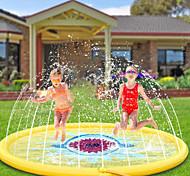 """economico -splash pad sprinkler per bambini 68 """"spruzzi tappetino da gioco giochi d'acqua all'aperto gonfiabile splash pad piscina per bambini ragazzi ragazze bambini al di fuori del cortile cane sprinkler"""