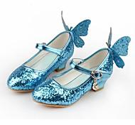 economico -Cenerentola Da principessa Elsa Da ragazza Scarpe Cosplay di film Con lustrini Bianco Blu Rosa Giornata universale dell'infanzia Scarpe Pelle sintetica