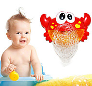 cheap -Outdoor Blowing Bubble Frog&Crabs Baby Bath Toy Bubble Maker Swimming Bathtub Soap Machine Toy for Children With Music Water Toy