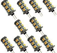 economico -10 pezzi 2 W Luci LED Bi-pin 200 lm G4 18 Perline LED SMD 5050 Bianco caldo Bianco 12 V