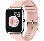 abordables -P22 Smartwatch Montre Connectée pour Android iOS Samsung Apple Xiaomi Bluetooth 1.3 pouce Taille de l'écran IP 67 Niveau imperméable Imperméable Ecran Tactile Moniteur de Fréquence Cardiaque Mesure