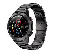abordables -M4Plus Smartwatch Montre Connectée pour Android iOS Samsung Apple Xiaomi Bluetooth 1.3 pouce Taille de l'écran IP 67 Niveau imperméable Imperméable Ecran Tactile GPS Moniteur de Fréquence Cardiaque