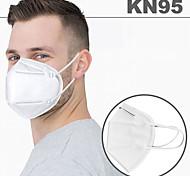 economico -20 pcs KN95 Maschera Mascherina Respiratore Protezione Filtro in tessuto soffiato fuso Alta qualità Bianco / Efficienza di filtrazione (PFE)> 95%