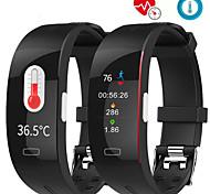 abordables -P3A Smartwatch Montre Connectée pour Android iOS Samsung Apple Xiaomi Bluetooth 0.96 pouce Taille de l'écran IP 67 Niveau imperméable Imperméable Moniteur de Fréquence Cardiaque Mesure de la pression