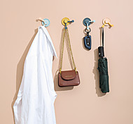 economico -Ganci Creativo / Auto-adesivo Di tendenza / Contemporaneo moderno ABS 4 pezzi Accessori per la toilette