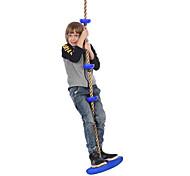 abordables -Play Swings Ensemble de balançoire Balançoire corde d'escalade Portable Ajustable Dé à Coudre Carcasse de plastique Enfant Garçons et filles Jouet Cadeau