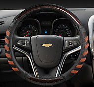 economico -il volante per auto di moda copre in pelle 38 cm antiscivolo traspirante per accessori auto universali per quattro stagioni