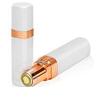 abordables -épilateur électrique pour dames mini-rouge à lèvres rasoir épilateur rasage facial et équipement de beauté de rasage (modèles à piles, expédiés sans piles)