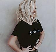 abordables -Perruque Synthétique Droit crépu Coupe Asymétrique Perruque Court Blanc crème Cheveux Synthétiques 12 pouce Femme simple Vie Homme Blanc