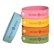 abordables -10 pièces Bracelets anti-moustiques Portable Anti Moustique Anti-Moustique Pour le Bureau Bébé Intérieur Extérieur Enfants Adultes Adolescent