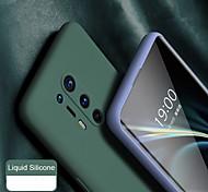 economico -telefono Custodia Per OnePlus Per retro Silicone Custodia in silicone OnePlus 8 Pro OnePlus 7 Oneplus 7 pro uno più 7T Ultra sottile Tinta unita Silicone