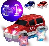 economico -Auto Auto Macchina da corsa Con LED Fantastico Fai da te Mini veicoli per auto Giocattoli per bomboniere o regali di compleanno per bambini 1 pcs / Per bambini