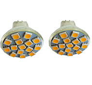 abordables -2 pièces 3 W Spot LED 300 lm MR11 15 Perles LED SMD 5050 Blanc Chaud Blanc Froid Blanc Naturel 9-30 V