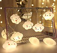 economico -3M Fili luminosi 20 LED Bianco caldo Natale Capodanno Romantico Decorativo Vacanze Batterie AA alimentate