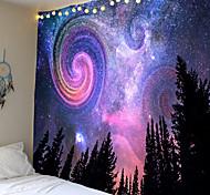 abordables -psychédélique bohème mandala imprimé polyester tapisserie tapisserie murale pour décorer la maison salon chambre bureau 6 tailles