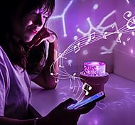abordables -Veilleuses bébé et enfants Projecteurs Lampe Ciel Etoilé Eclairage LED Boîte à musique Lune Etoile Exquis USB 36 V Enfants Adultes pour des cadeaux d'anniversaire et des cadeaux Intérieur