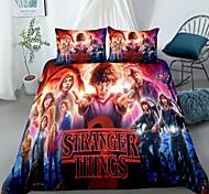 abordables -Stranger Things textiles de maison 3d ensemble de literie housse de couette avec taie d'oreiller 2/3 pcs chambre housse de couette ensembles literie