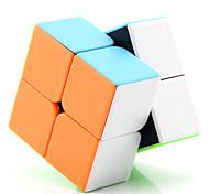 abordables -Ensemble de cubes de vitesse 1 pcs Cube magique Cube IQ D917 2*2*2 Cubes Magiques Cube casse-tête Jouets de bureau Adolescent Adulte Jouet Cadeau