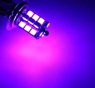 economico -2 pezzi fendinebbia a led per auto h7 / h11 / 9005/9006 rgbw multicolore 5050 27 lampade smd decorative con telecomando