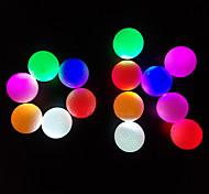 abordables -Balle de Golf 3pcs Lampe LED Phosphorescent Caoutchouc Pour Sport & Loisir Exercice Nuit Golf Intermédiaire