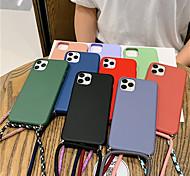 economico -telefono Custodia Per Apple Per retro Silicone Custodia in silicone iPhone 12 Pro Max 11 SE 2020 X XR XS Max 8 7 6 iPhone 11 Pro Max SE 2020 X XR XS Max 8 7 6 Effetto ghiaccio Tinta unita Silicone