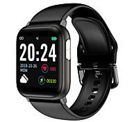 abordables -V6 Unisexe Smartwatch Montre Connectée Bracelets Intelligents Bluetooth Imperméable Sportif Enregistrement de l'activité Santé Informations ECG + PPG Podomètre Rappel d'Appel Moniteur d'Activit