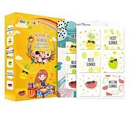 abordables -Autocollants anti-moustiques 1 boîte Pour l'Intérieur Portable Bande dessinée Anti Moustique Anti-Moustique Enfants Adultes Adolescent Intérieur Extérieur
