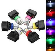 abordables -T10 smd5050 194 ampoules à led feux de plaque d'immatriculation de voiture ampoule instrument jauge cluster tableau de bord lumière avec prise