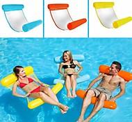 abordables -Jouets Gonflables de Piscine Piscine gonflable Hamac d'eau Drifter Hamac de piscine Extérieur Portable PVC Eté Bleu Unisexe Adulte