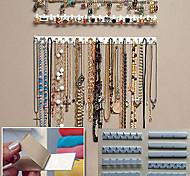 economico -9pcs ganci per gioielli adesivi supporto per montaggio a parete supporto per organizer espositore