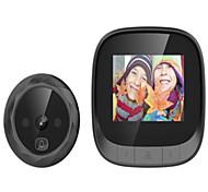 abordables -2.4 La caméra de sonnette à œil de chat visible prend en charge la caméra de vision nocturne avec boucle de mémoire intégrée couvrant la longue veille