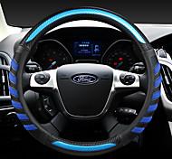 economico -ford fashion coprivolante copre 38 cm in pelle antiscivolo traspirante per accessori auto universali per quattro stagioni