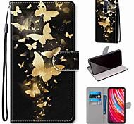 abordables -téléphone Coque Pour Xiaomi Coque Intégrale Étui en cuir Wallet Xiaomi Mi 9T Pro Redmi K30 Xiaomi Mi 9T Redmi Note 8 Redmi Note 8T Xiaomi Redmi 7 Redmi Note 7 Redmi Note 6 Pro Redmi Go Redmi K20 Pro