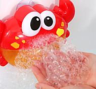 abordables -Jeu de Bain Machine à bulles Jouets pour piscine Jouet de baignoire de piscine d'eau Jouet de baignoire Crabe Plastique 24 chansons pour enfants Salle de Bain Eté pour les tout-petits, cadeau de