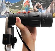 economico -16 X 52 mm Monocolo Visione notturna a bassa luminosità Portatile 66/8000 m BaK4 Campeggio e hiking Caccia Pesca ABS + PC