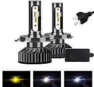 abordables -Infitary 2 pièces h4 / h13 / 9004/9007 ampoules de moto / voiture ampoules LED antibrouillard / feux de jour / phares pour universel