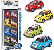 economico -Macchinine giocattolo Playsets veicoli Macchinina giocattolo Mini Furgone Giocattolo del fumetto Colorato Lega di metallo Mini veicoli per auto Giocattoli per bomboniere o regali di compleanno per