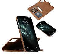 economico -telefono Custodia Per Apple Integrale Custodia in pelle iPhone 12 Pro Max 11 SE 2020 X XR XS Max 8 7 6 iPhone 11 Pro Max SE 2020 X XR XS Max 8 7 6 Porta-carte di credito Resistente agli urti Con