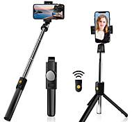 economico -Asta per selfie Bluetooth Allungabile Lunghezza massima 70 cm Per Universale Android / iOS Universali