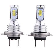 abordables -otolampara 2pcs h10 / h9 / h7 ampoules de voiture 35 w csp 3000 lm 2 phares à led pour universel tous les modèles toutes les années