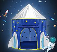 abordables -Tentes & Tunnels de Jeux Abris de Jeux Tentes Tente de jeu pour enfants Tipi Château Vaisseau Spatial Etoile Pliable Pratique Tente Pop Up Polyester Microfibre de polyester Intérieur De plein air