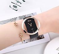 abordables -Femme Montre bracelet Montres à quartz Analogique Quartz Mode Chronographe Mignon Créatif / Un ans / Cuir PU