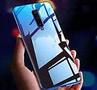 economico -telefono Custodia Per OnePlus Per retro Silicone Custodia in silicone OnePlus 8 Pro Oneplus 7 pro Oneplus 6T Resistente agli urti Placcato Ultra sottile Transparente TPU Silicone