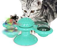 economico -Cannette gioco per gatti Giocattolo interattivo Giocattolo rotante Set di giocattoli per gatti Mulino a vento Giocattoli interattivi per gatti Divertenti giocattoli per gatti Prodotti per gatti