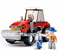 abordables -Blocs de Construction Jouet Educatif 103 pcs Automatique Dessin animé compatible Carcasse de plastique Legoing Exquis Fait à la main Jouets de décompression Bricolage Garçons et filles Jouet Cadeau