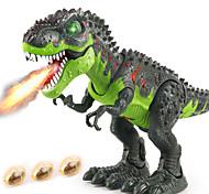 abordables -Jouet dinosaure Dinosaure marchant R / C Vacances Marche électronique Télécommande avec tête mobile, lumières, sons rugissants Articles de fête Enfant Adulte Faveurs de fête, jouets éducatifs de